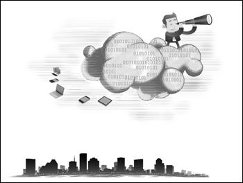 """云计算""""二次创业""""力破传统利益链"""