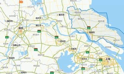 南通市区位交通图