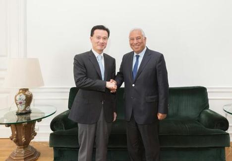 上海华信证券董事长郭林等参加了接见