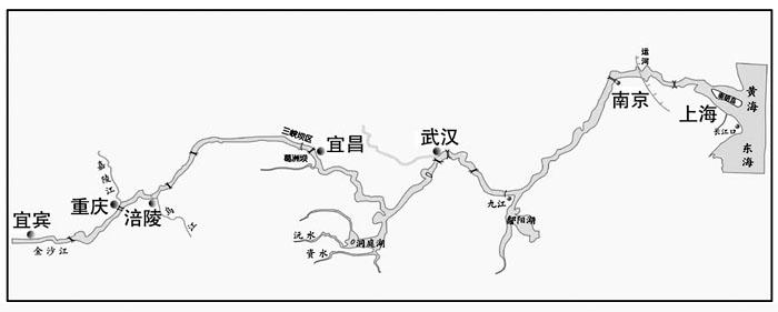 长江水运图; 长江简图图片下载分享; 长江水系示意图_黄河水系示意图