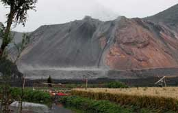 当地煤矸石泛滥成灾,一台煤矸石砖机多少钱?