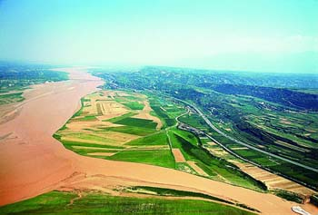 生态渭河(资料照片)