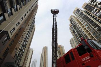 塔式高层住宅消防登高面