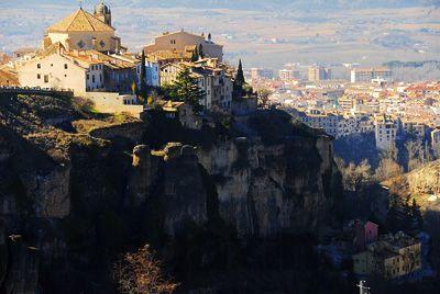 西班牙小镇昆卡图片
