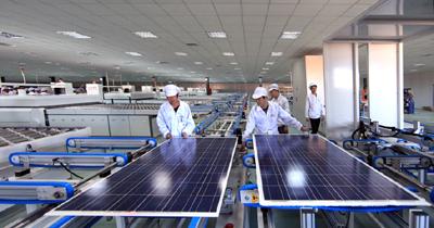 太阳能光伏电池板生产线