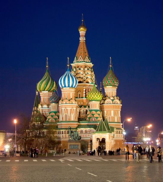 莫斯科最古老的建筑群-——克里姆林宫