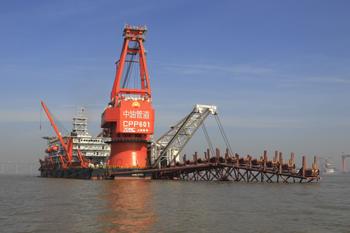 中石油管道局进军海洋管道市场
