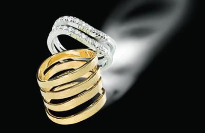 戒指设计图手稿素描戒指