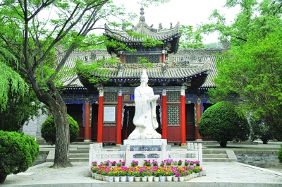 古卷阿(岐山周公庙)——中国最早的风景区