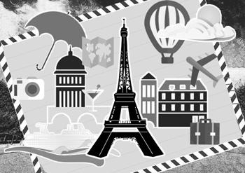 纪念物(埃菲尔铁塔是为纪念法国大革命100年修建的)