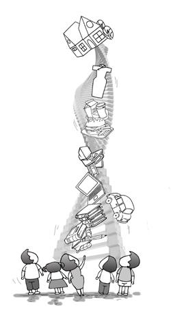 水龙头内部结构图简笔画