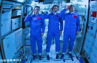 神舟十二號3名航天員順利進駐天和核心艙