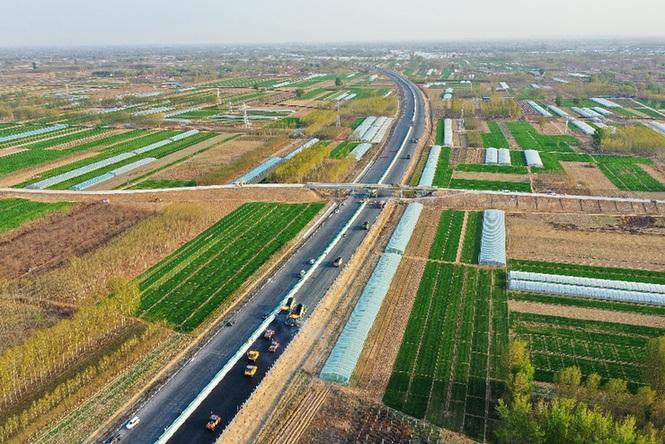 京德高速(一期工程)建設有序推進