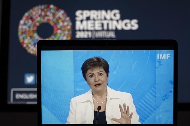 IMF總裁呼吁促進疫苗公平獲取