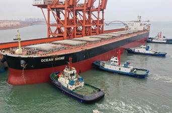河北唐山港一季度吞吐量同比增長22.93%